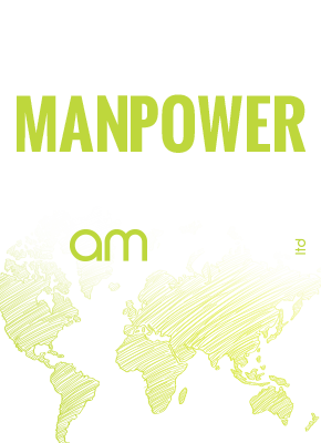 Providing Man power worldwide