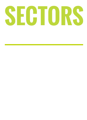 Sectors we specialise in